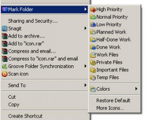 color folder with mark folder software
