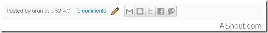 share button for blogger