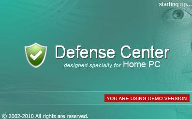 At startup of Defense Center Anti-virus