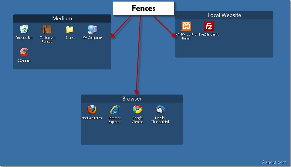 Fences software demo