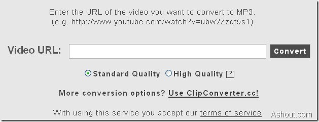 "video2mp3 is a new ""youtube"