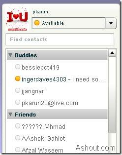 web yahoo messenger: