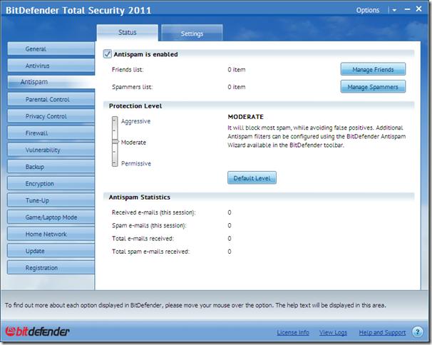 BitDefender Total Security 2011