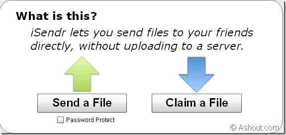 isendr-file transfers