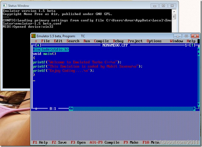 Turbo c for windows 7 64bit and 32bit