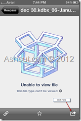 Unable to view file.This file type can't be viewed