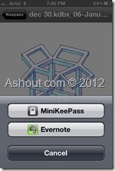minikeepass dropbox