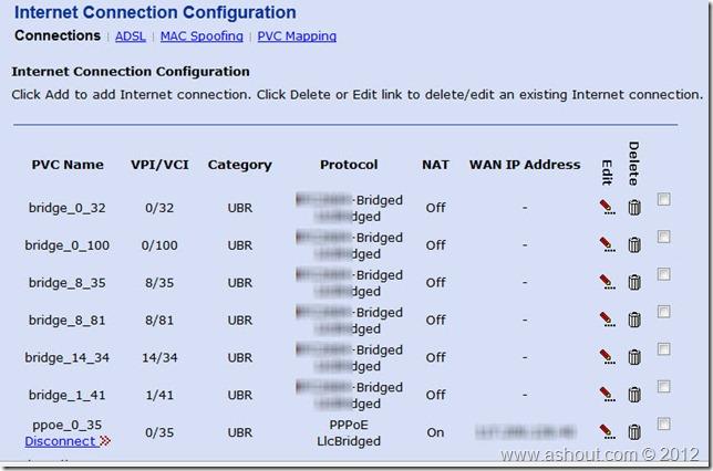 internet connection configuration bsnl