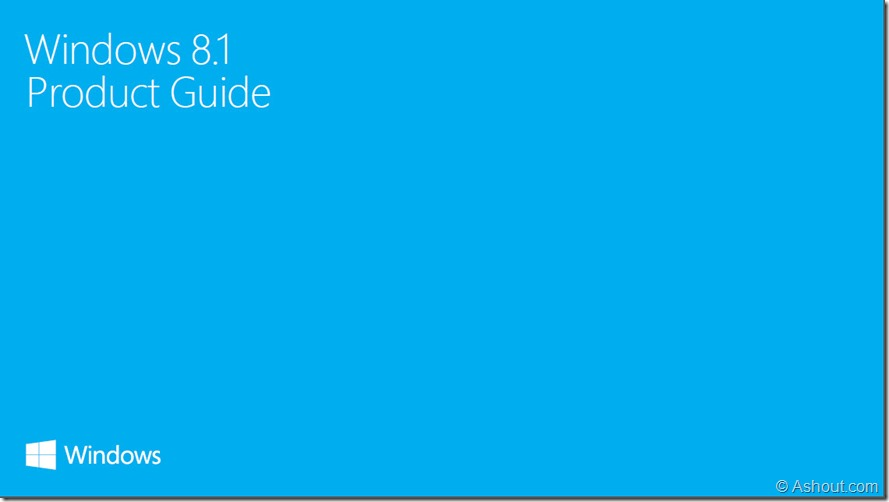 windows 8.1 product guide pdf