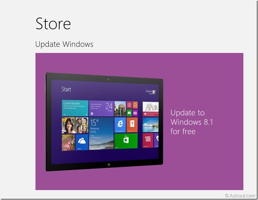 windows 8.1 update notification problem