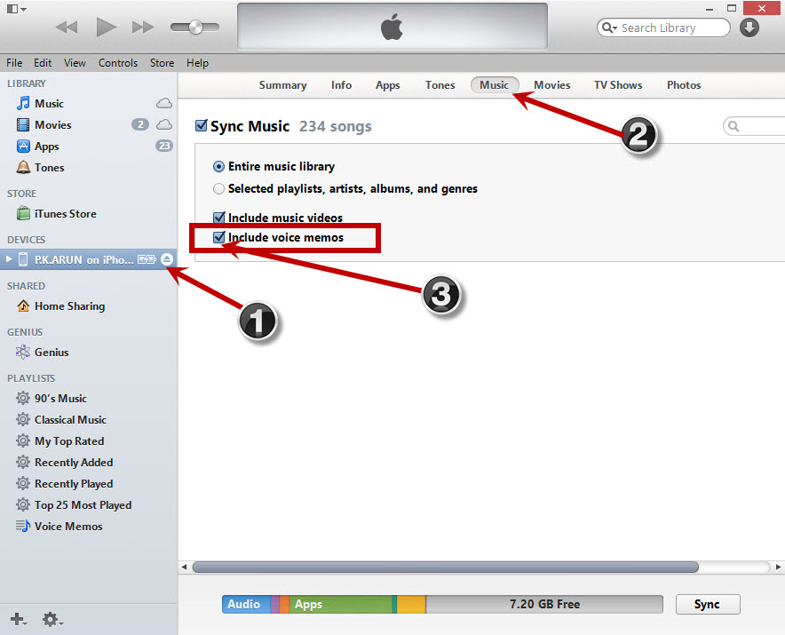 copying-voice-memos-using-itunes