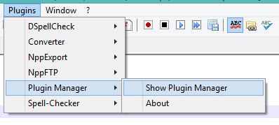 installing compare plugin notepad++