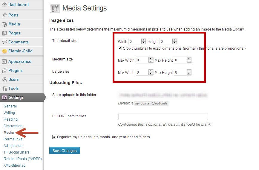 disable wordpress creating thumbnail or duplicate images