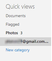 quick views outlook