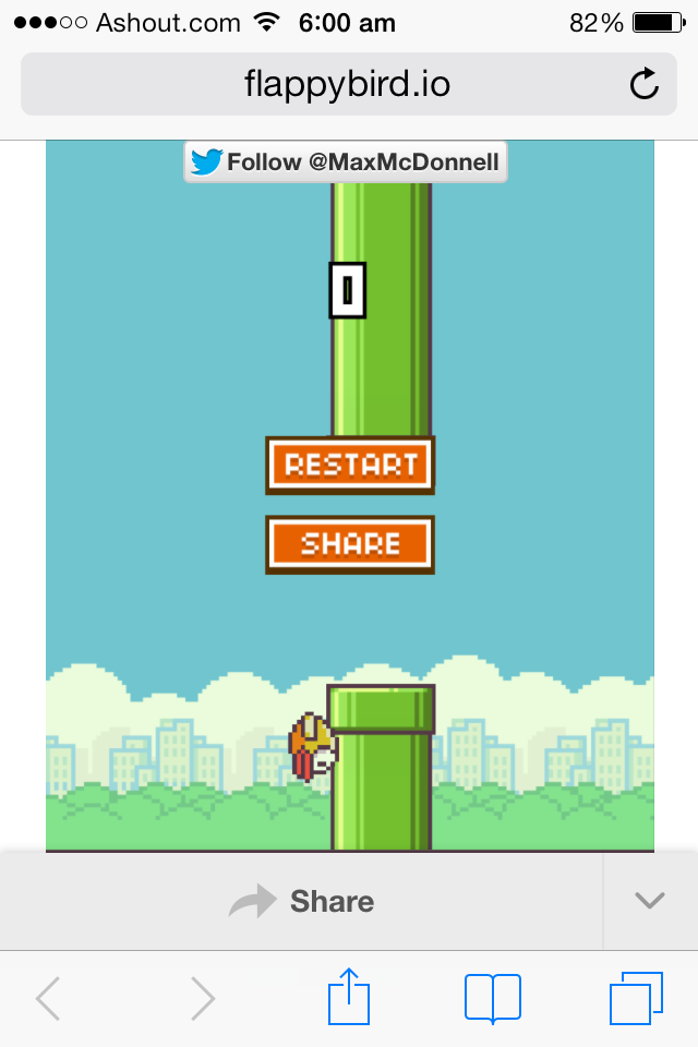 flappy bird mobile