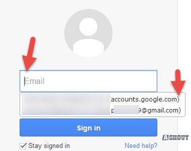 keepass select username