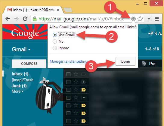 set gmail.com mailto handler