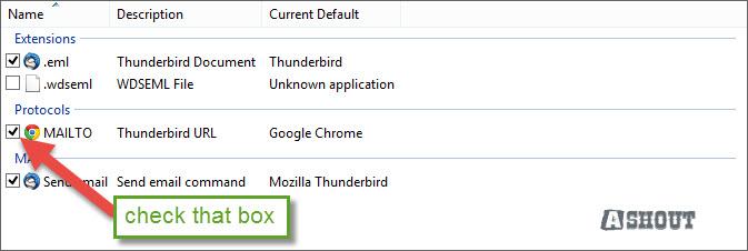 thunderbird chrome