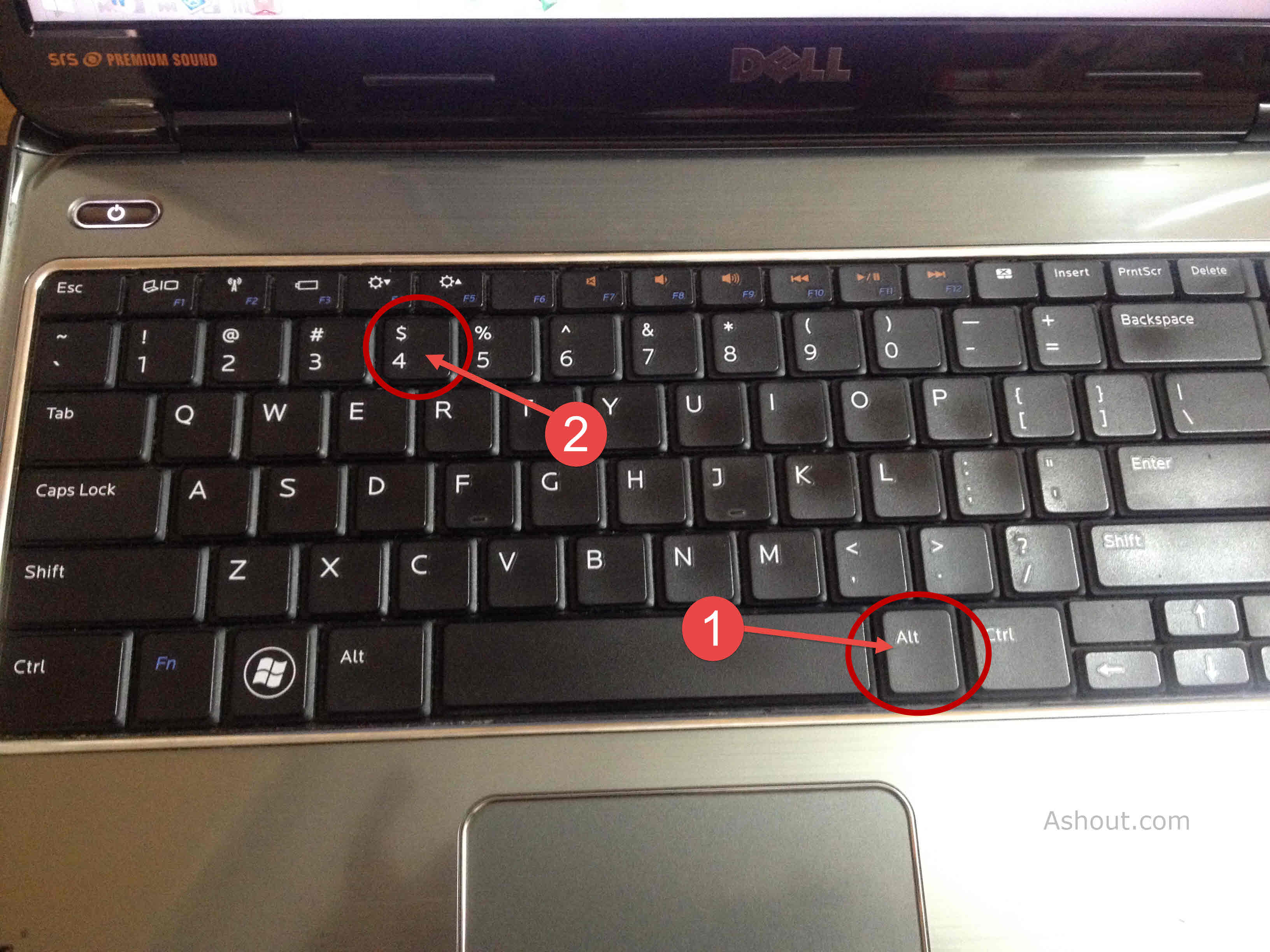typing Indian rupee symbol