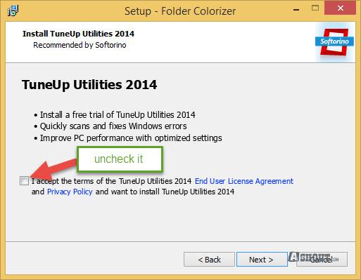Folder Colorizer installation tip