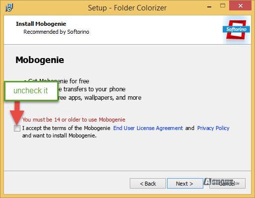 Folder Colorizer installation