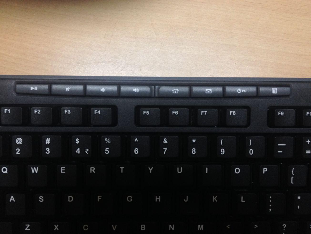 LOGITECH mk270 wireless keyboard hot keys