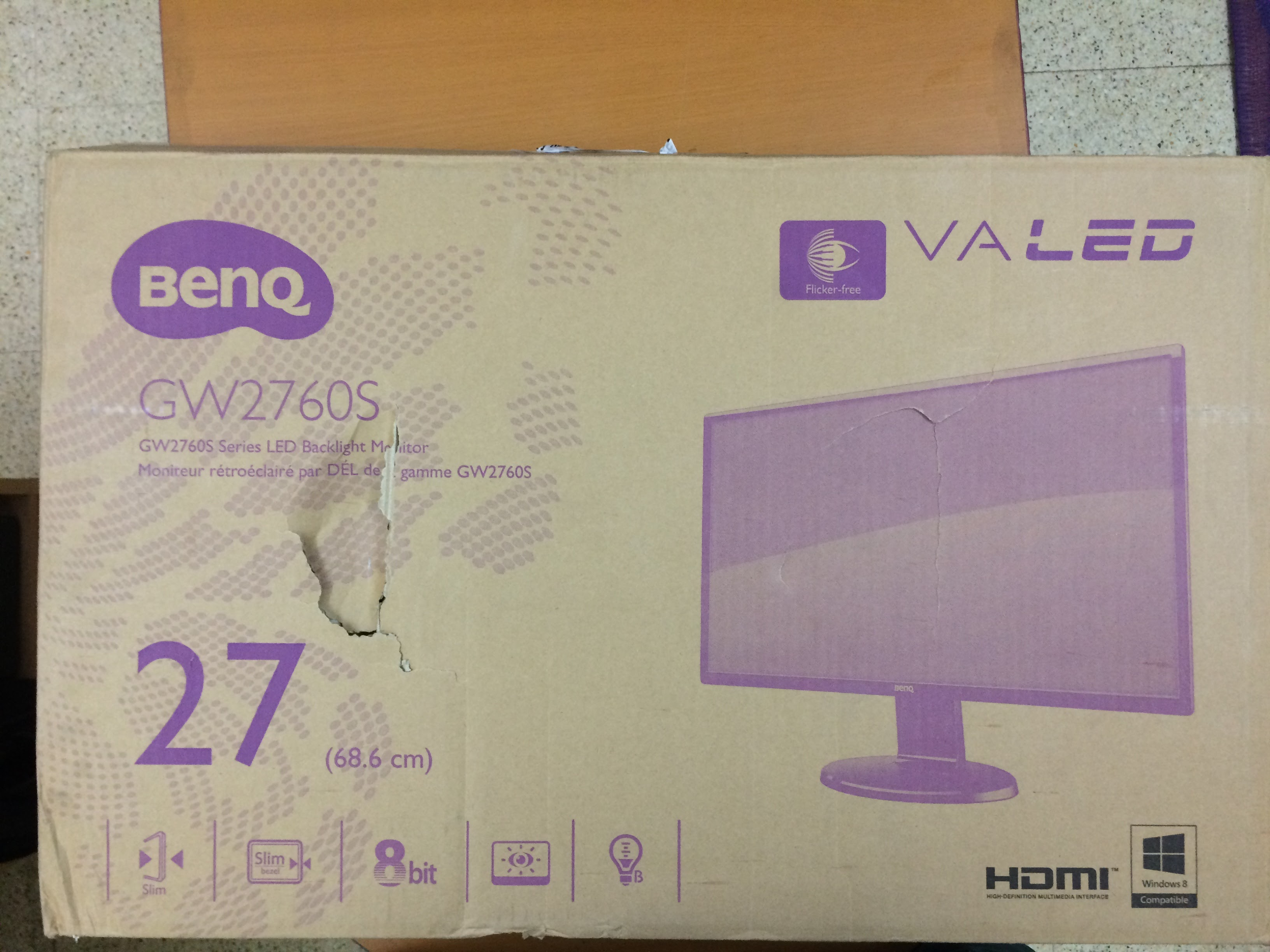 snapdeal-gw-2760hs-benq-monitor-package